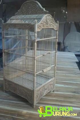Sangkar Burung Kotak AQK 005 ILM - BelanjaBurung.com